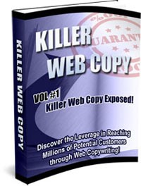 Killer Web Copy 1,2, 3 MRR Ebook