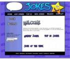My Jokes Website Blue Personal Use Template