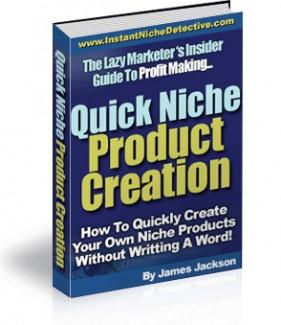 Quick Niche Product Creation PLR Ebook