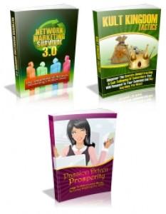 PLR Pack 2 – 3 EBooks Plr Ebook