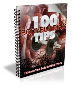 100 Bodybuilding Tips Give Away Rights Ebook