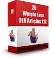 25 Weight Loss Plr Articles V12 PLR Article