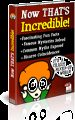 Now That's Incredible Plr Ebook