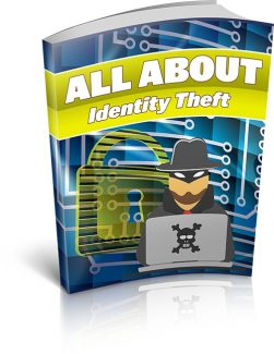 All About Identity Theft MRR Ebook