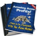 Amazing Acne Profits Resale Rights Ebook With Video