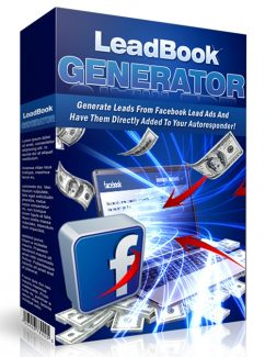 Leadbook Generator PLR Software With Video