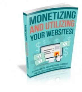 Monetizing And Utilizing Your Website MRR Ebook