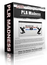 Plr Madness PLR Article With Video
