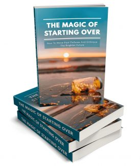 The Magic Of Starting Over MRR Ebook