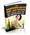 The Mediterranean Diet Meltdown Give Away Rights Ebook ...