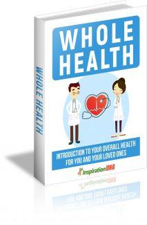 Whole Health MRR Ebook