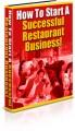 How To Start A Successful Restaurant Business Plr Ebook