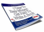 7 Days To Easy-Money: Get Paid To Write A Book PLR Ebook