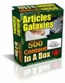 Articles Galaxies Plr Articles
