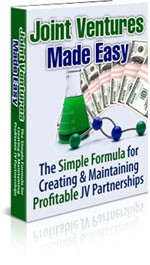 Joint Ventures Made Easy Plr Ebook