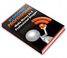 Blogging Professional Plr Ebook