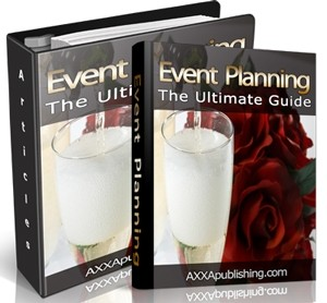 Event Planning – The Ultimate Guide Plr Ebook