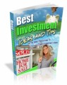 Best Investment Tips And Ideas Mrr Ebook
