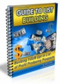 Guide To List Building Mrr Ebook