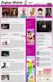 Perfume Website Personal Use Template