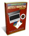 Expert's Guide To Article Marketing Strategies Personal ...
