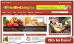 Healthy Eating Tips Resale Rights Template