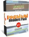 Premium Headers Pack V3 Personal Use Template With Video