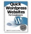 Quick Wordpress Websites For Beginners Plr Ebook