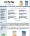 Taxes Site Plr Template