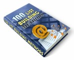 100 List Building Methods Plr Ebook