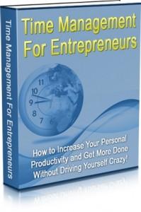 Time Management For Entrepreneurs Mrr Ebook