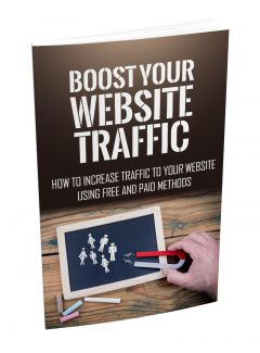 Boost Your Website Traffic MRR Ebook