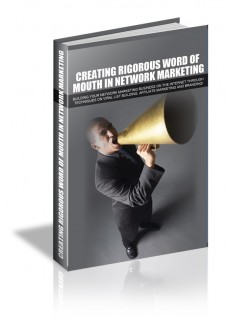 Creating Rigorous Word Of Mouth MRR Ebook