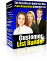 Customer List Builder MRR Software