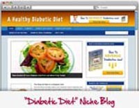 Diabetic Diet Blog Personal Use Template With Video
