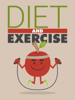 Diet And Exercise MRR Ebook