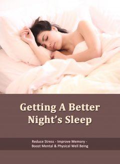 Getting A Better Nights Sleep PLR Ebook