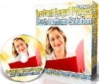 Instant Legal Pages Software Developer License Software