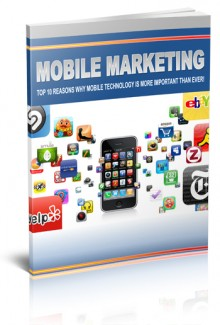 Mobile Marketing Technology Personal Use Ebook