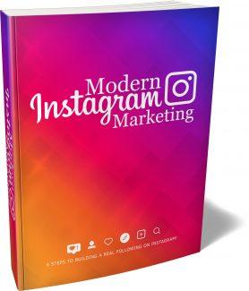 Modern Instagram Marketing MRR Ebook
