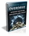 Private Label Overdrive PLR Ebook