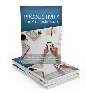 Productivity For Procrastinators MRR Ebook