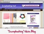 Scrapbooking Blog Personal Use Template With Video