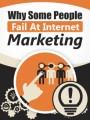 Why Some People Fail At Internet Marketing PLR Ebook