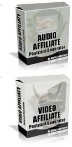 Audio Video Affiliate Postcard Generator Mrr Software
