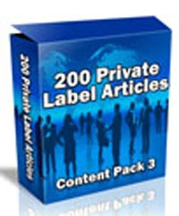 200 Plr Articles: Content Pack 3 PLR Article