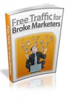 Free Traffic For Broke Marketers Mrr Ebook