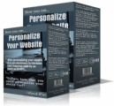 Personalize Your Website Resale Rights Software