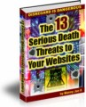 The 13 Serious Death Threats To Your Websites MRR Ebook