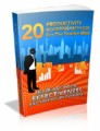 20 Productivity Boosting Methods For The Positive Mind ...